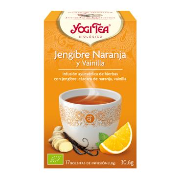 Yogi Tea-Jengibre, Naranja...