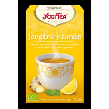 Yogi Tea Jengibre y Limón