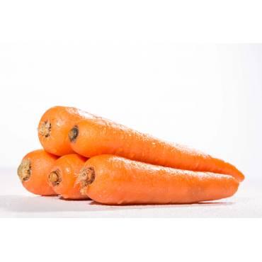 Zanahorias sin hojas - 500 Gr