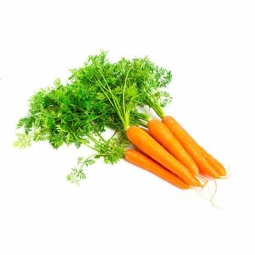 Zanahorias con hojas - 500 Gr
