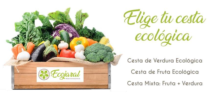 Cajas ecológicas de fruta y verdura
